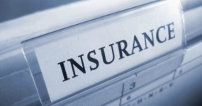 image of an insurance sign